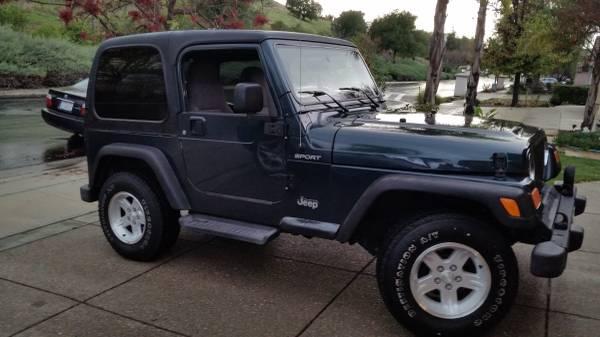 2005 Jeep Wrangler Sport For Sale in Santa Barbara ...