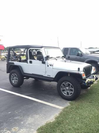 2005 Jeep Wrangler Unlimited For Sale in Goldsboro, North ...