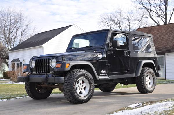 2005 Jeep Wrangler Unlimited For Sale in Muscle Shoals ...