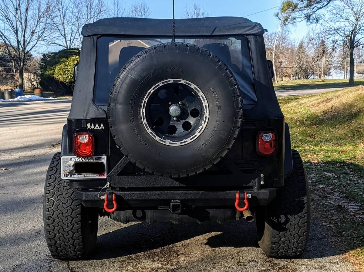 2005 Jeep Wrangler Rubicon For Sale in Appleton, WI - $13,500