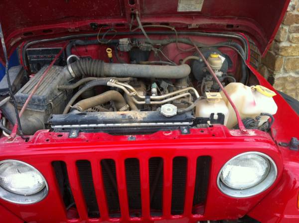 2005 Jeep Wrangler X For Sale in Lufkin, Deep East Texas ...