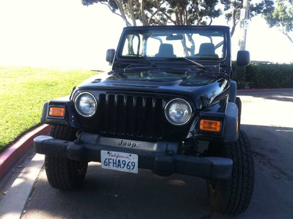 2005 Jeep Wrangler Unlimited For Sale in San Diego ...