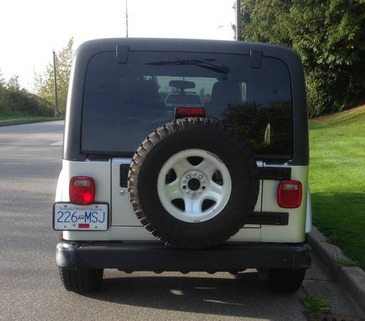 Craigslist Vancouver: 2005 Jeep Wrangler Unlimited For Sale In Vancouver, BC