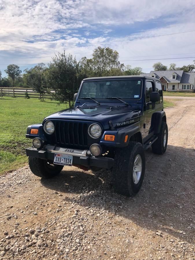 2005 Jeep Wrangler Rubicon For Sale in Brazoria, TX - $11,500