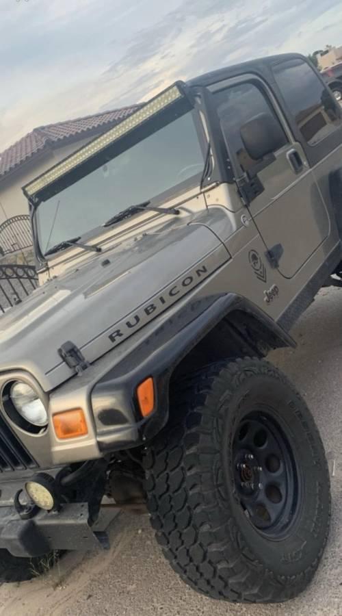 2005 Jeep Wrangler Rubicon For Sale in El Paso, TX - $10,000