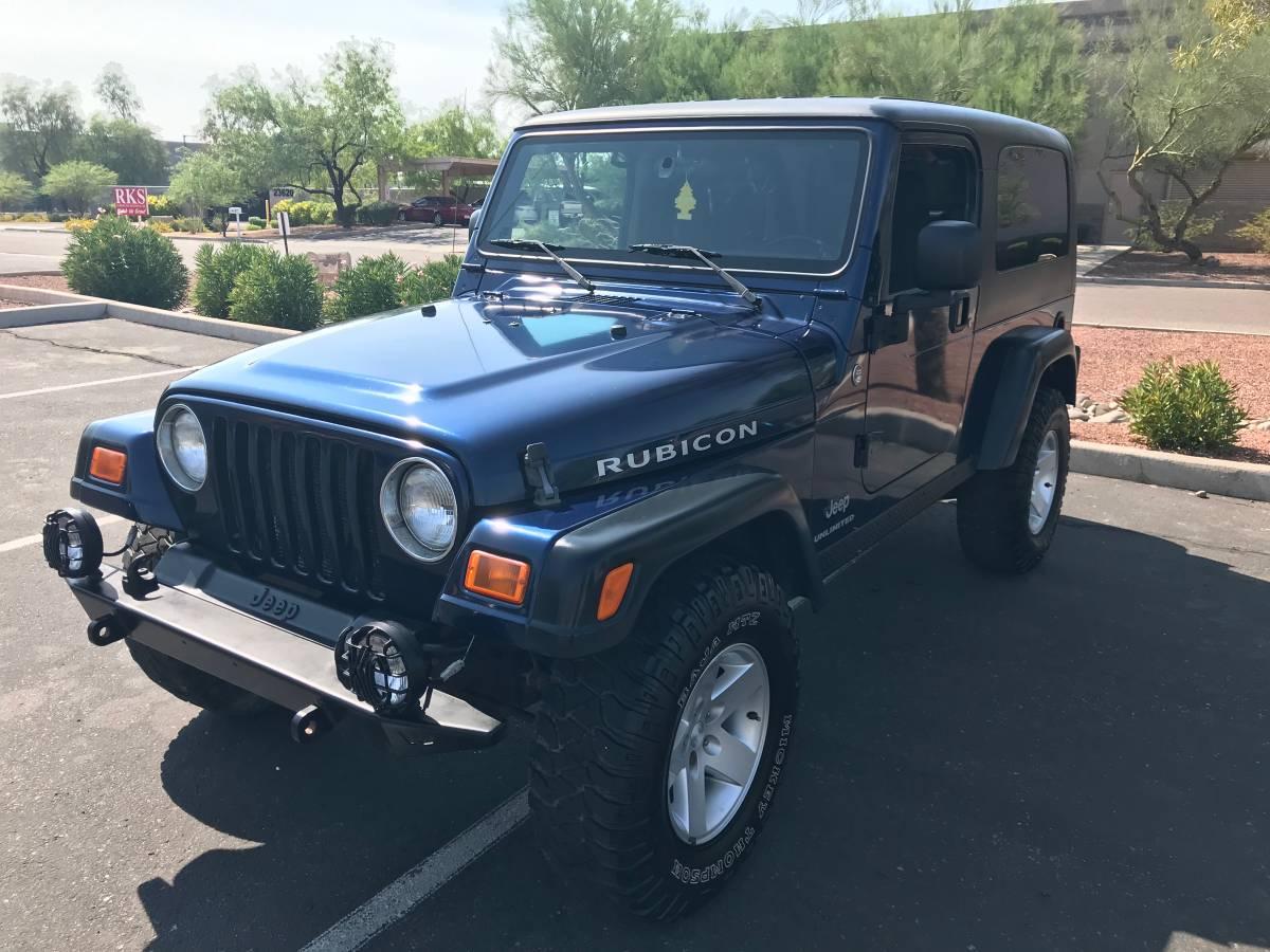 2005 Jeep Wrangler Rubicon For Sale in Glendale, AZ - $22,500