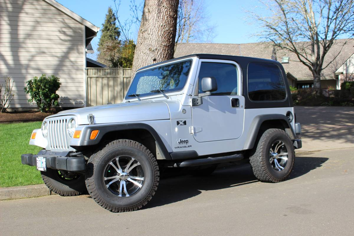 2005 Jeep Wrangler X For Sale in Wilsonville, OR - $16,995